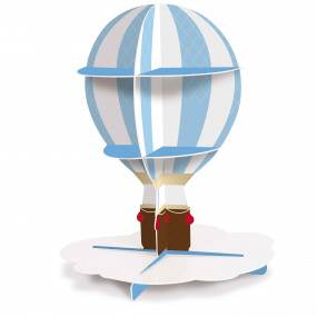 Expositor Cupcakes Balão Ar Quente