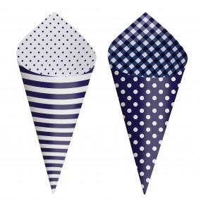 Cones Azul Royal - Conj.24