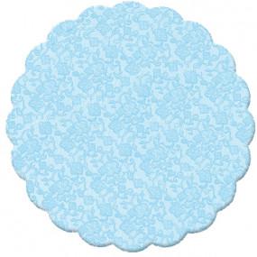 100 Tapetinhos Brigadeiro Azul