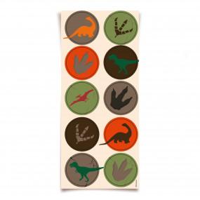 Etiquetas  Dinossauros - conj.30