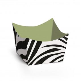 Forminhas Brigadeiro Padrão Zebra - Conj. 24