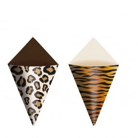 Mini Cones Selva - conj.24