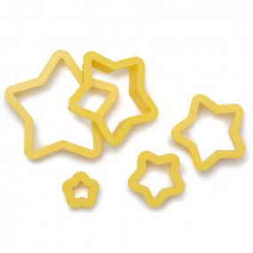 Cortadores Estrelas Conj. 5