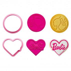 Cortadores Barbie - conj.2