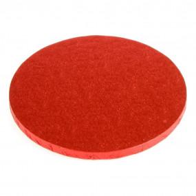 Placa Alta Vermelha - 25cm Ø