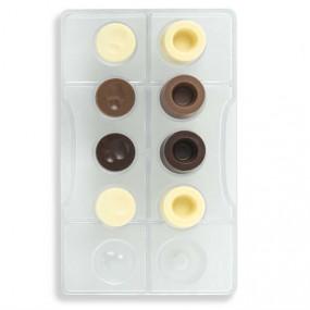 Molde Policarbonato Chocolate Bombons