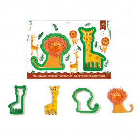 Cortador Leão e Girafa