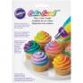 Wilton - Adaptador Grande tricolor ColorSwirl