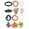 Mini Cortadores Halloween - conj. 6