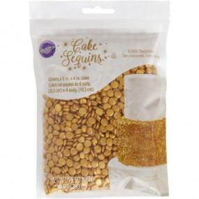 Confetis Dourados Wilton