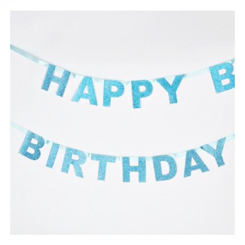 Grinalda Happy Birthday Azul
