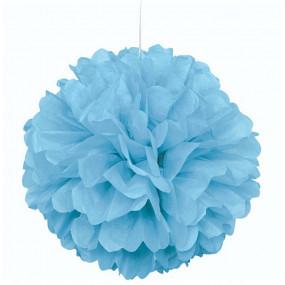 Pompom Grande Azul Claro