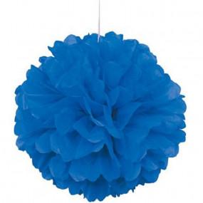 Pompom Grande Azul