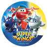 Folha Hóstia Super Wings 20cm