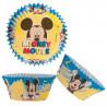 Formas Cupcake Mickey Conj. 50
