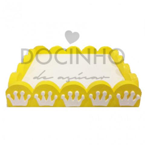 Base Chupas Amarela Coroas