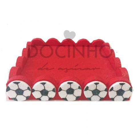 Base Chupas Futebol Vermelha