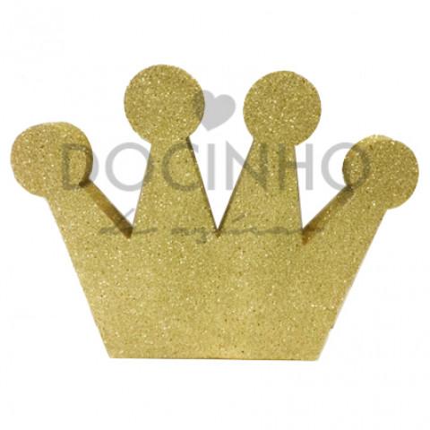 Coroa Dourada 27cm