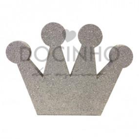 Coroa Prateada 27cm