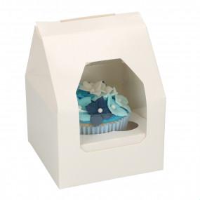 Caixa 1 Cupcake Branca