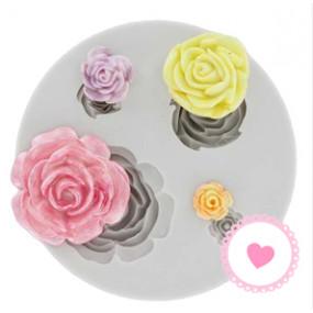 Molde Rosas