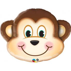 Balão cabeça macaco 89cm