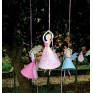 8 pesos para balões princesas
