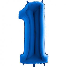 Balão Grande 1 Azul