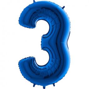 Balão Grande 3 Azul