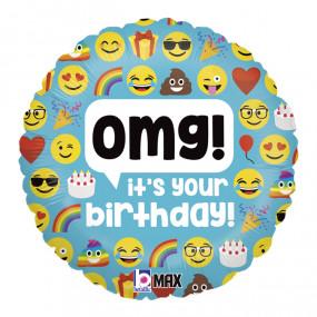 Balão Emojis 45cm