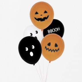 5 Balões Halloween