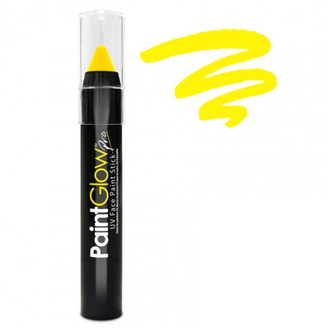 Lápis Tinta Facial UV Amarelo