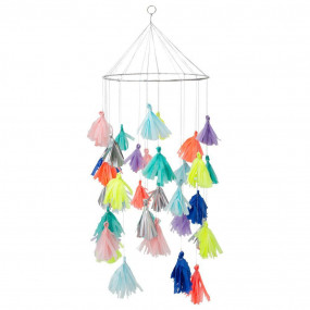 Chandelier Tassel Colorida