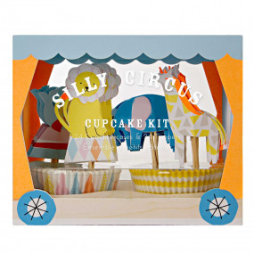 Kit Cupcakes Silly Circus
