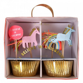 Kit Cupcakes Unicórnios