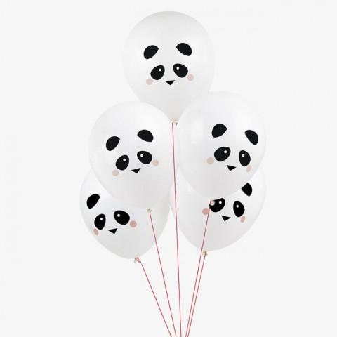 5 Balões Panda