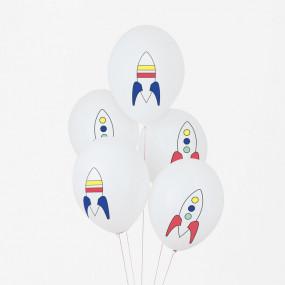 5 Balões Espaço