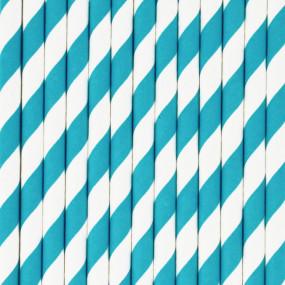 Palhinhas Riscas Azul