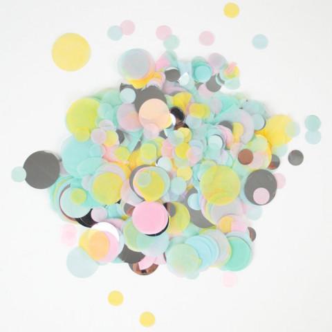 Confetis Pastel 2.5cm