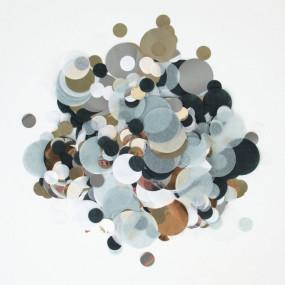Confetis Powder PRATA 2.5cm