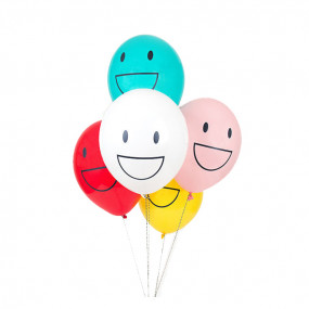 5 Balões Smiles