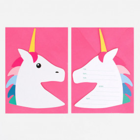 Convites Unicornios