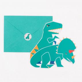 Convites Dinossauros