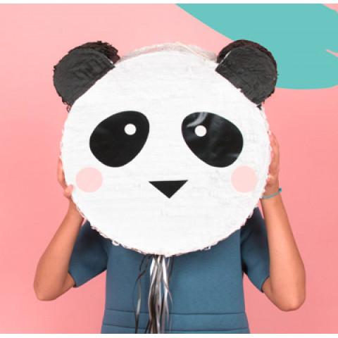 Pinhata Cabeça Panda