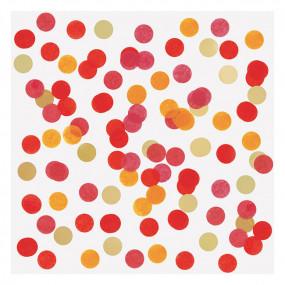 Confetis Vermelhos 2.5cm