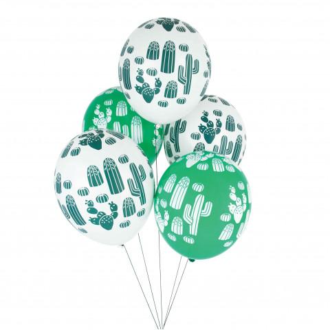 5 Balões Cactos