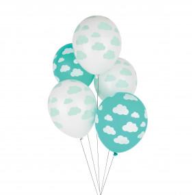 5 Balões Nuvens