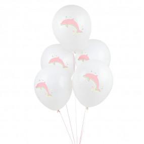 5 Balões GOLFINHOS