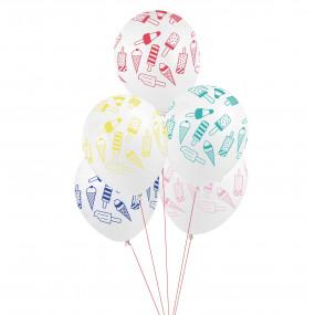 5 Balões Gelados