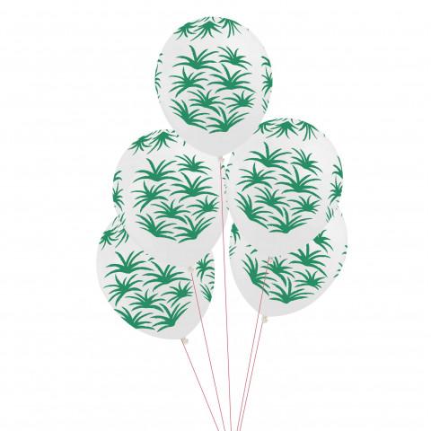 5 Balões FOLHAS